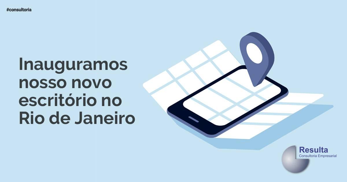 Novo escritório Resulta no Rio de Janeiro.