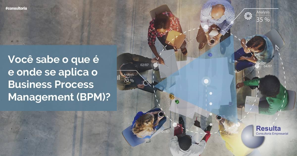 Você sabe o que é e onde se aplica o Business Process Management (BPM)?